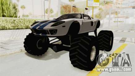 Ford GT 2005 Monster Truck for GTA San Andreas