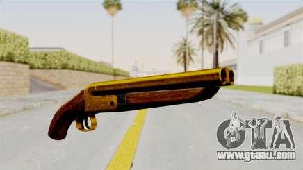 Sawnoff Gold for GTA San Andreas