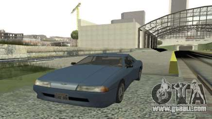 Standard Elegy with a retractable spoiler for GTA San Andreas