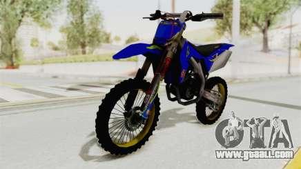 Suzuki RM-Z 450 Gendarmerie v0.2 for GTA San Andreas