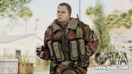 Battery Online Russian Soldier 9 v2 for GTA San Andreas