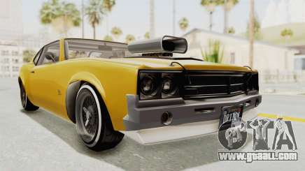 GTA 5 Declasse Sabre GT2 B IVF for GTA San Andreas