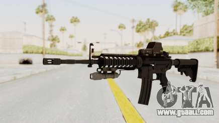 AR-15 with Eotech 552 and Flashlight for GTA San Andreas