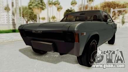 Chevrolet Nova 1969 StreetStyle for GTA San Andreas
