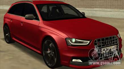 Audi S4 Avant for GTA San Andreas