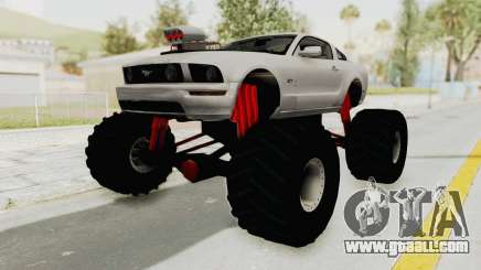 Ford Mustang 2005 Monster Truck for GTA San Andreas