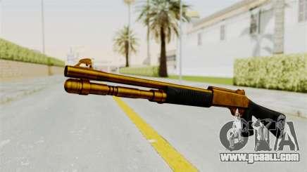 XM1014 Gold for GTA San Andreas