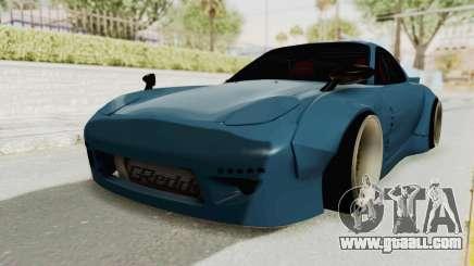 Mazda RX-7 FD3S Rocket Bunny v2 for GTA San Andreas