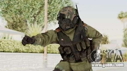 Advanced Warfare North Korean Assault Soldier for GTA San Andreas