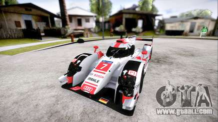 Audi R18 E-Tron Quattro 2015 for GTA San Andreas