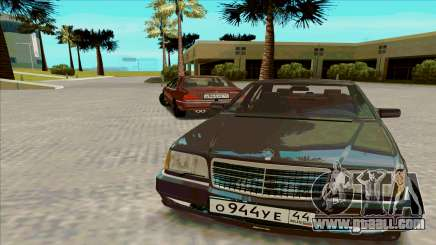 Mercedez-Benz W140 for GTA San Andreas