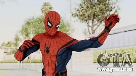 Captain America Civil War - Spider-Man for GTA San Andreas