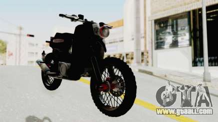 Honda Super Cub Modif Moge for GTA San Andreas