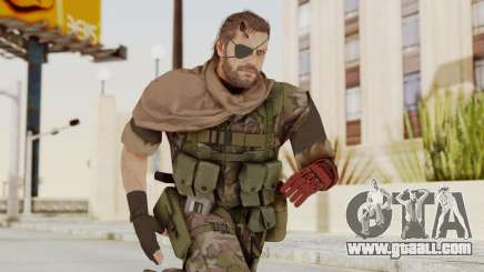 MGSV The Phantom Pain Venom Snake Scarf v6 for GTA San Andreas