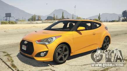 Hyundai Veloster [Replace] 1.2 for GTA 5