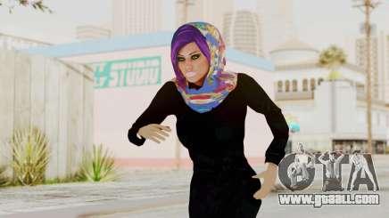 Iranian Girl Skin v2 for GTA San Andreas