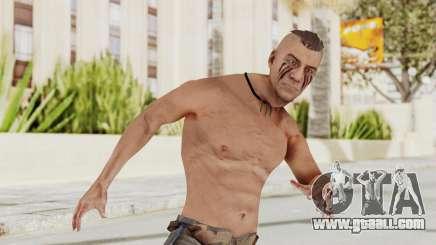Assassins Creed 3 - Connor Kenway Shirtless for GTA San Andreas
