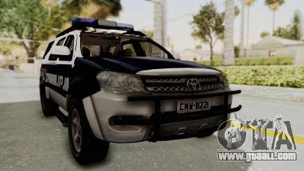 Toyota Fortuner JPJ White for GTA San Andreas