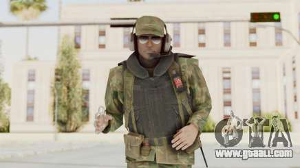 MGSV Ground Zeroes US Pilot v1 for GTA San Andreas