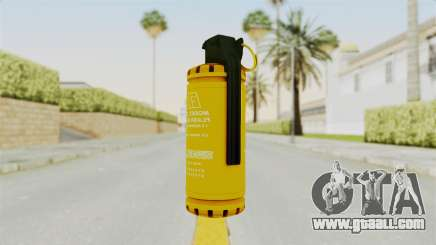 Tear Gas Gold for GTA San Andreas