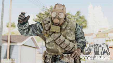 COD BO Russian Spetznas Flak MP v4 for GTA San Andreas