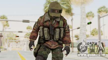 Battery Online Russian Soldier 10 v2 for GTA San Andreas