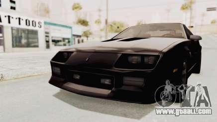 Chevrolet Camaro Z28 Iroc-Z Targa 1991 for GTA San Andreas
