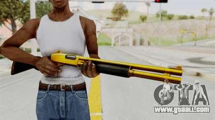 Remington 870 Gold for GTA San Andreas