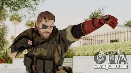 MGSV The Phantom Pain Venom Snake Scarf v4 for GTA San Andreas