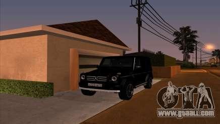 Mercedes G55 Kompressor for GTA San Andreas