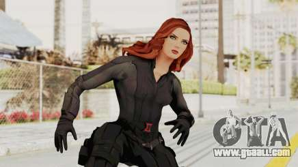 Captain America Civil War - Black Widow for GTA San Andreas