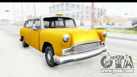 Cabbie London for GTA San Andreas