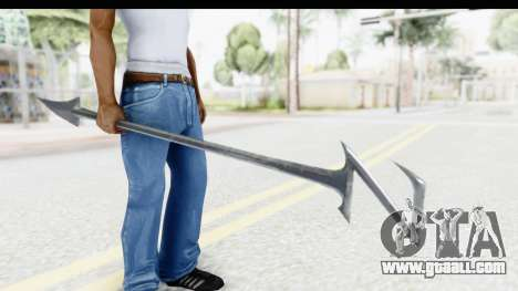Lord Zedd Weapon for GTA San Andreas