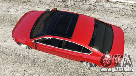 GTA 5 Volkswagen Passat Highline B8 2016 Stanced back view