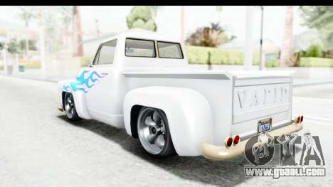 GTA 5 Vapid Slamvan without Hydro IVF for GTA San Andreas engine