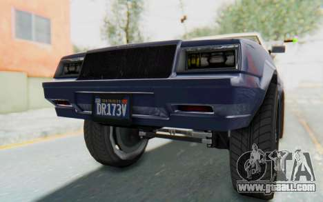 GTA 5 Willard Faction Custom Donk v3 IVF for GTA San Andreas bottom view