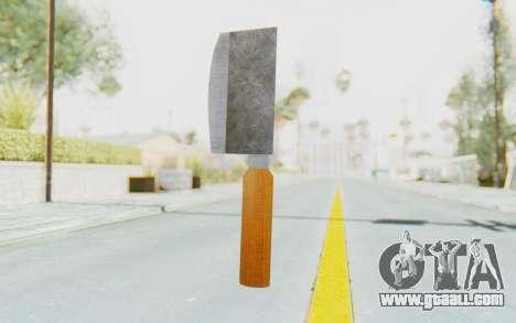 Butcher Knife for GTA San Andreas second screenshot