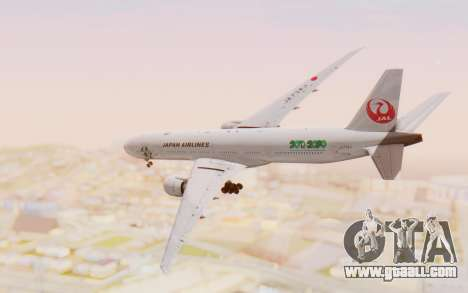 Boeing 777-300ER Japan Airlines v1 for GTA San Andreas right view