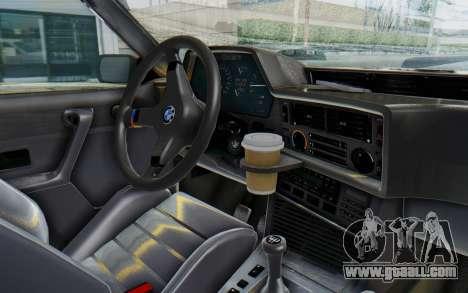 BMW M635 CSi (E24) 1984 IVF PJ2 for GTA San Andreas back view