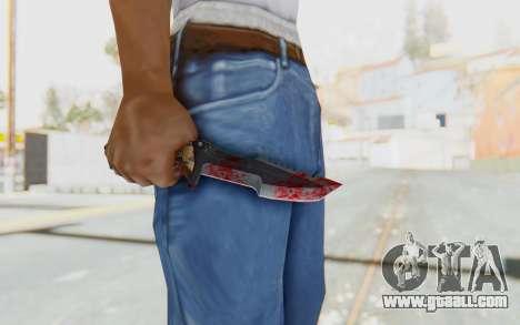 Huntsman Knife for GTA San Andreas third screenshot