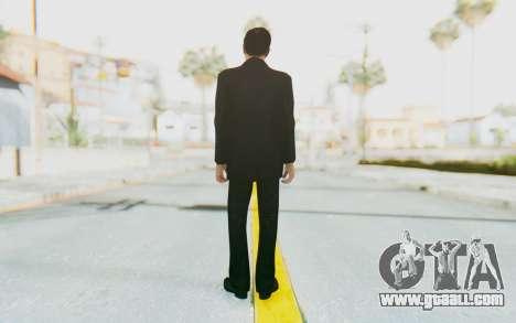 Mafia 2 - Vito Scaletta Madman Suit Black for GTA San Andreas third screenshot