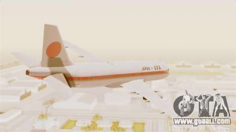 Airbus A320-200 Japanese Air Force One for GTA San Andreas left view