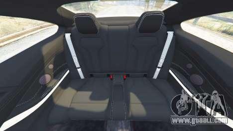 GTA 5 BMW M4 2015 v0.01 steering wheel