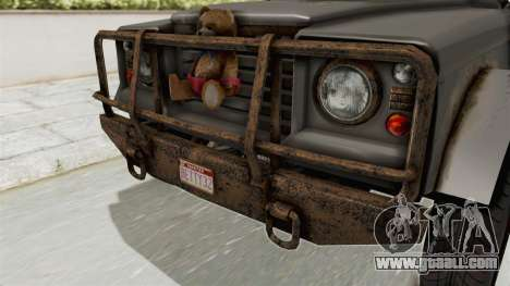 GTA 5 Canis Bodhi Trevor IVF for GTA San Andreas inner view