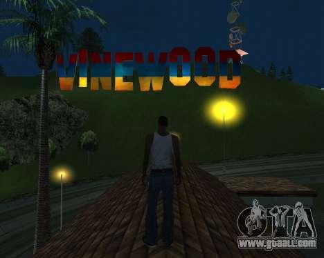 New Vinewood Armenia for GTA San Andreas