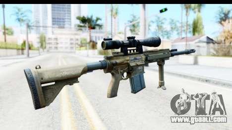 CoD Ghosts - G-28 Desert Camo for GTA San Andreas second screenshot