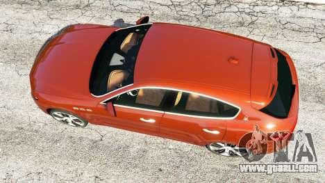Maserati Levante 2017 for GTA 5