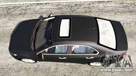 Honda Accord 2010 for GTA 5