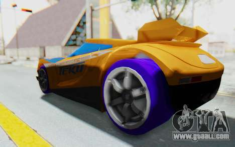 Hot Wheels AcceleRacers 4 for GTA San Andreas left view