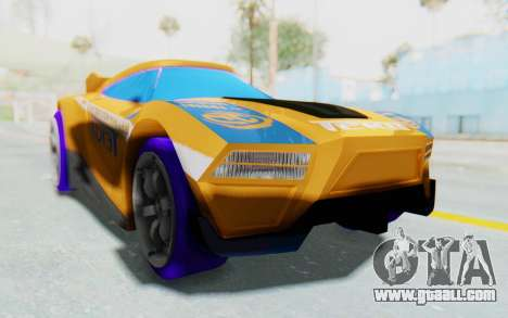 Hot Wheels AcceleRacers 4 for GTA San Andreas right view